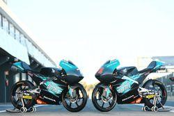 Les motos d'Adam Norrodin et d'Ayumu Sasaki, Petronas Sprinta Racing