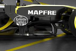 Renault F1 Team RS18 bargeboard detayı