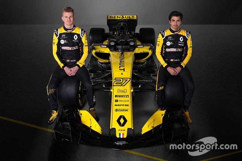 Nico Hülkenberg, Carlos Sainz, Renault F1 Team