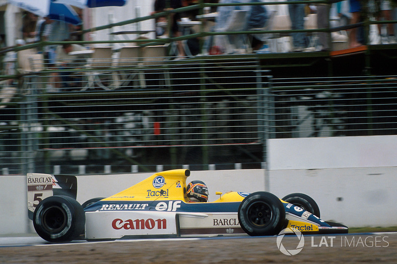 1989 (Thierry Boutsen, Williams-Renault FW13)