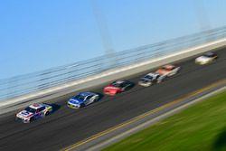 A.J. Allmendinger, JTG Daugherty Racing Chevrolet Camaro, Chris Buescher, JTG Daugherty Racing Chevr