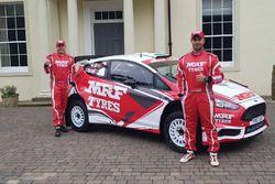 Gaurav Gill y Glenn MacNeall, Ford Fiesta R5