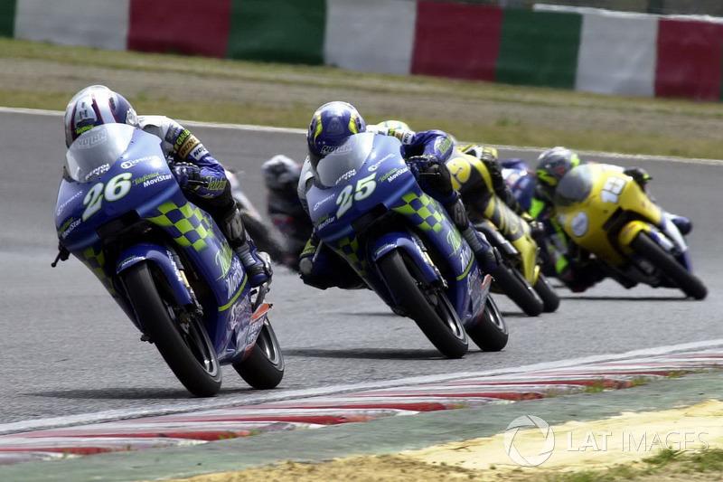 2001: GP de Japón, debut en el Mundial