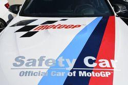 Le logo de la voiture de sécurité