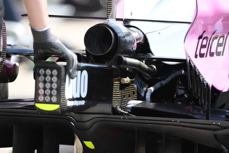 Force India VJM11 escape