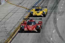 #99 JDC/Miller Motorsports ORECA 07, P: Stephen Simpson, Mikhail Goikhberg, #85 JDC/Miller Motorsports ORECA 07, P: Simon Trummer, Robert Alon
