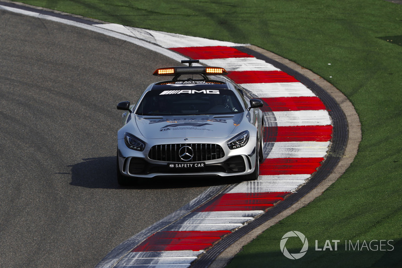 El Mercedes AMG safety-car