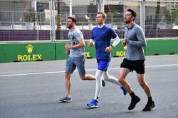 Sergey Sirotkin, Williams, fait le tour de la piste en courant