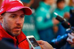 Nick Heidfeld, Mahindra Racing, parla con la stampa