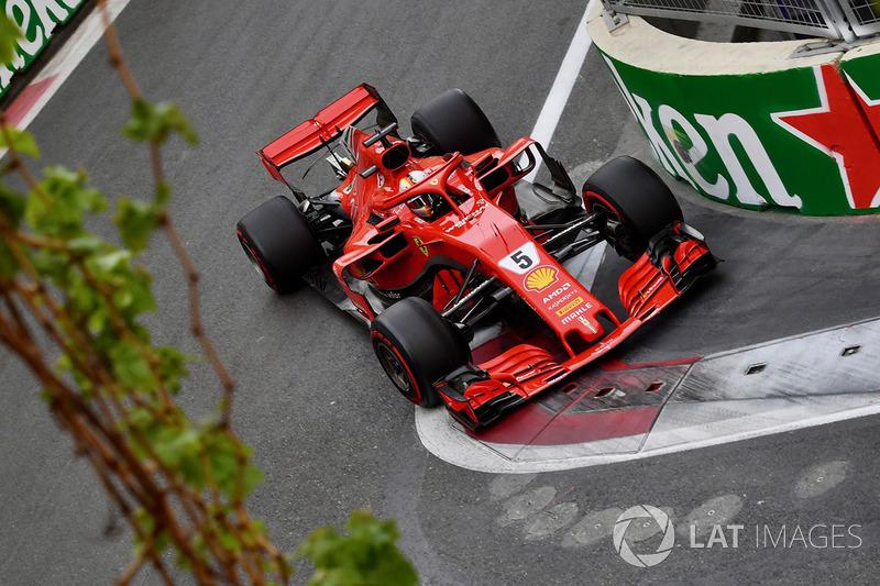 4e Sebastian Vettel, Ferrari SF71H