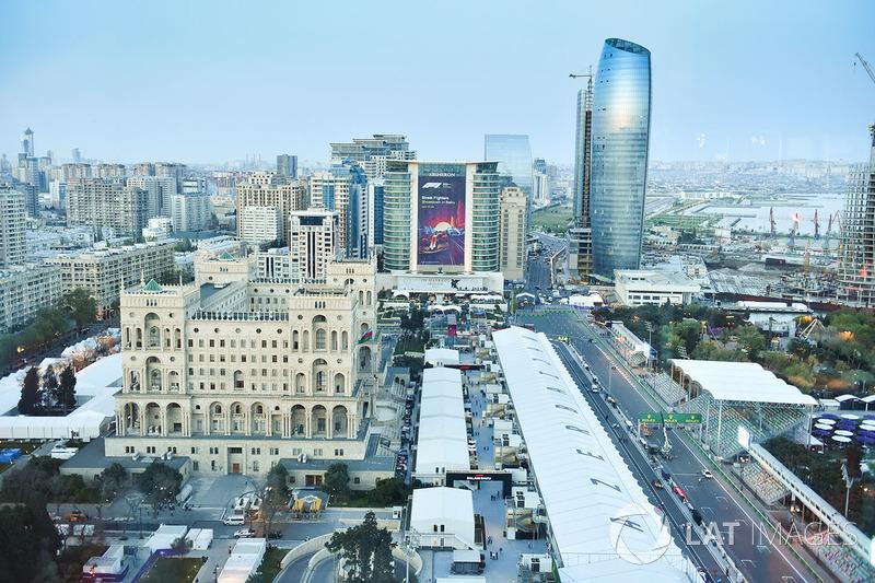 Баку с высоты птичьего полета