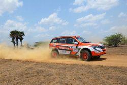 Gaurav Gill, Musa Sherif, XUV 500, Team Mahindra Adventure