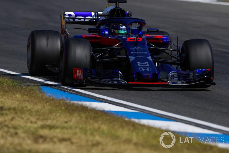 Brendon Hartley - Scuderia Toro Rosso: 8