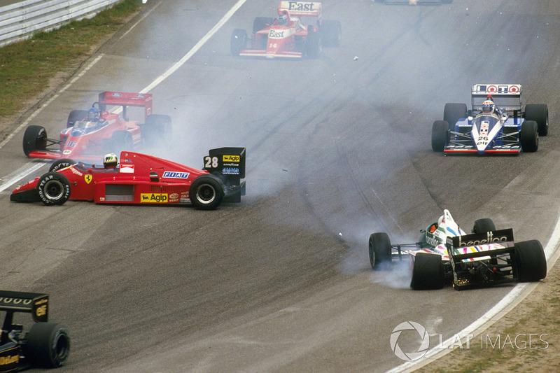Сходом инцидент закончился только для невезучего итальянца – Йоханссон и Альо поехали дальше