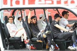 Lucas di Grassi, Audi Sport ABT Schaeffler, Jérôme d'Ambrosio, Dragon Racing, Daniel Abt, Audi Sport