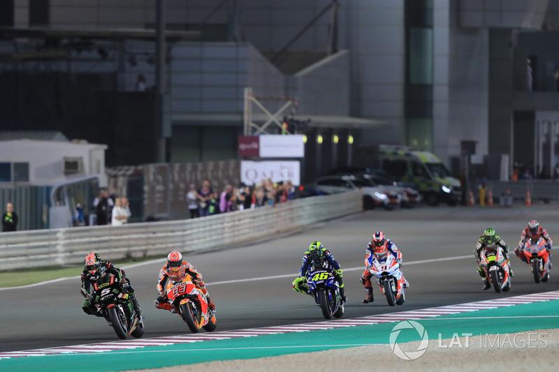 Johann Zarco mène le début de la saison MotoGP