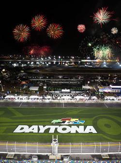 Fireworks over Daytona