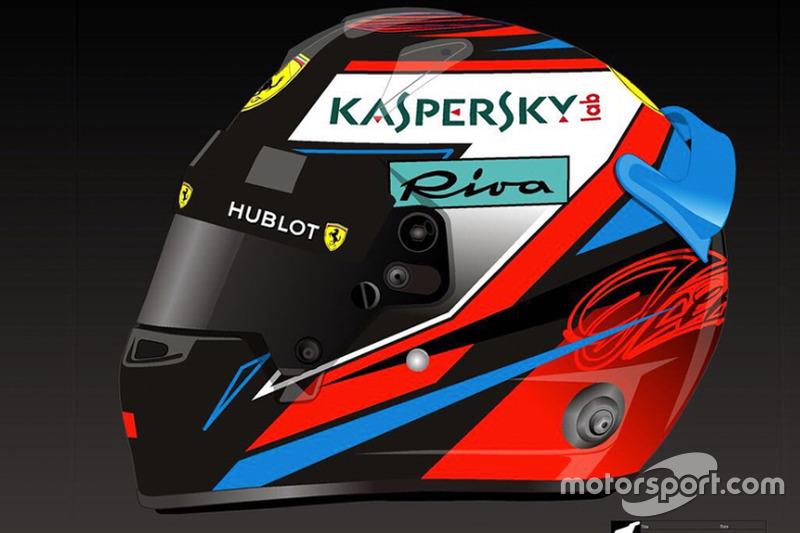 Helm Kimi Raikkonen 2018