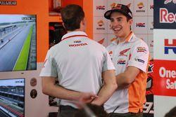 Alberto Puig, Team Principal Repsol Honda Team, Marc Marquez, Repsol Honda Team