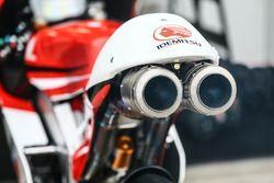 Exhaust Team Idemitsu bike