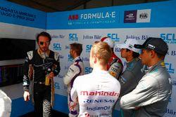 Jean-Eric Vergne, Techeetah, Sam Bird, DS Virgin Racing, Daniel Abt, Audi Sport ABT Schaeffler, Nels