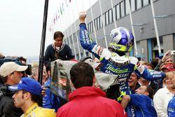 Race winner Sete Gibernau, Gresini Honda