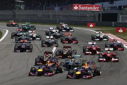 Start van de Duitse GP