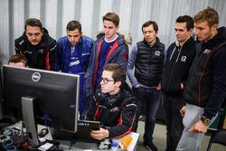 Matevos Isaakyan, Mikhail Aleshin, Sergey Sirotkin, SMP Racing Dallara BR1 LMP1