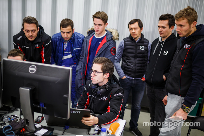 Матевос Исаакян, Михаил Алешин и Сергей Сироткин, SMP Racing Dallara BR1 LMP1