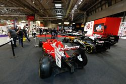 2017 F1 Cars on display at the F1 Racing Magazine stand