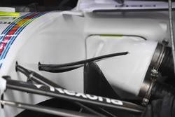 Williams FW40 aero detail