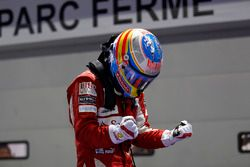 Ganador de la carrera, Fernando Alonso, Ferrari