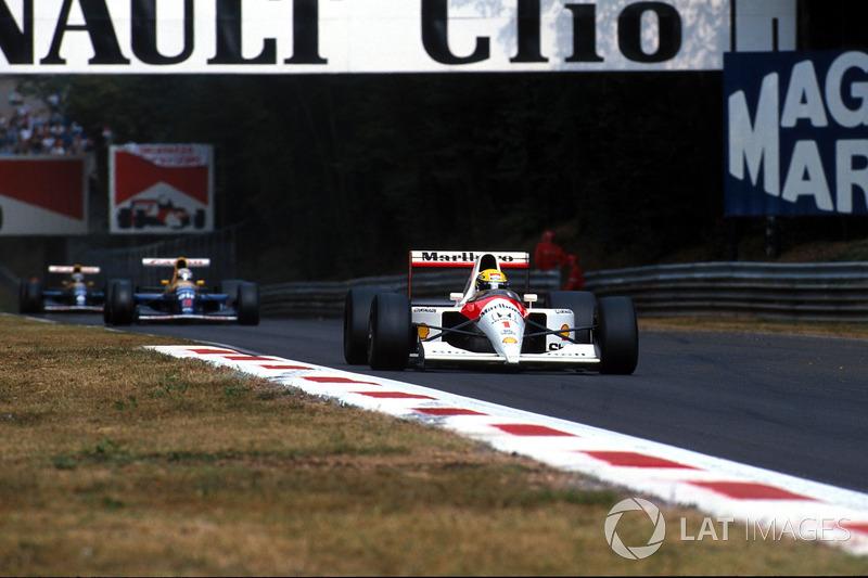7º Ayrton Senna, McLaren MP4/6; Monza 1991: 257,416 km/h