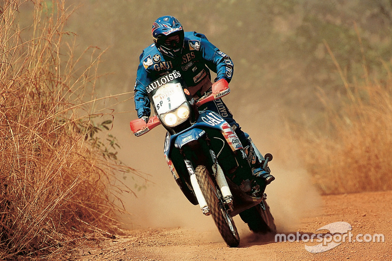 Richard Sainct, BMW y KTM, 3 Dakar