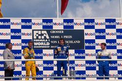 Podium: 1. Alain Prost, Williams; 2. Michael Schumacher, Benetton; 3. Mark Blundell, Ligier