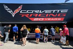 #3 Corvette Racing Chevrolet Corvette C7.R, GTLM: Antonio Garcia, Jan Magnussen, #4 Corvette Racing Chevrolet Corvette C7.R, GTLM: Oliver Gavin, Tommy Milner, Paddock, atmosphere,