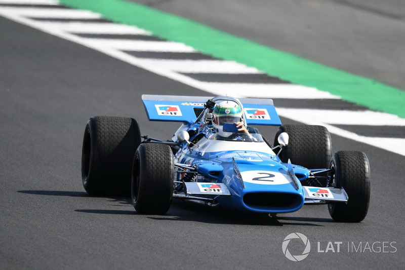 Matra MS80-Cosworth at Silverstone 70th Anniversary Parade