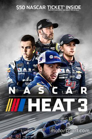 Постер игры NASCAR Heat 3