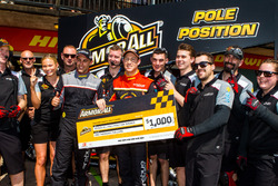 Pole position for David Reynolds, Erebus Motorsport Holden