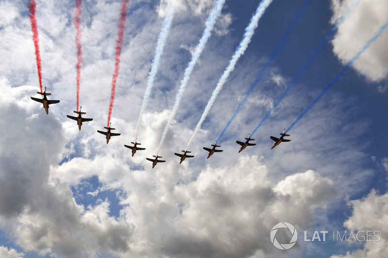 La patrulla aérea francesa