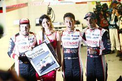 Pole-position voor #8 Toyota Gazoo Racing Toyota TS050: Sébastien Buemi, Kazuki Nakajima, Fernando Alonso