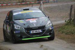 Victor Darbellay, Sarah Buchard, Peugeot 208 R2, Atelier de la Tzoumaz
