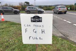 Car parks full