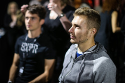 Sergey Sirotkin, Renault Sport F1 Team Test Driver in make up at Amber Lounge Fasion Show