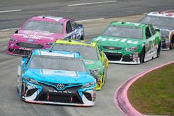 Gray Gaulding, BK Racing Toyota, Paul Menard, Richard Childress Racing Chevrolet, Danica Patrick, St
