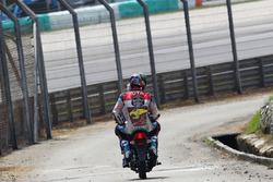 Alex Marquez na crash