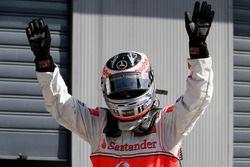 Ganador de la pole Fernando Alonso, McLaren MP4-22