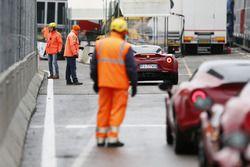 Alfa Romeo 4C pronte a scendere in pista