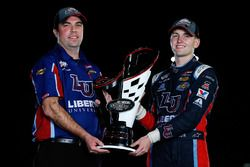 2017 champion William Byron, JR Motorsports Chevrolet, crew chief David Elenz