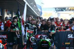 Jonathan Rea, Kawasaki Racing, vainqueur de la course